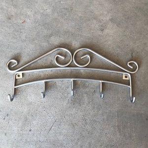SALE Silver Jewelry Display Holder Organizer